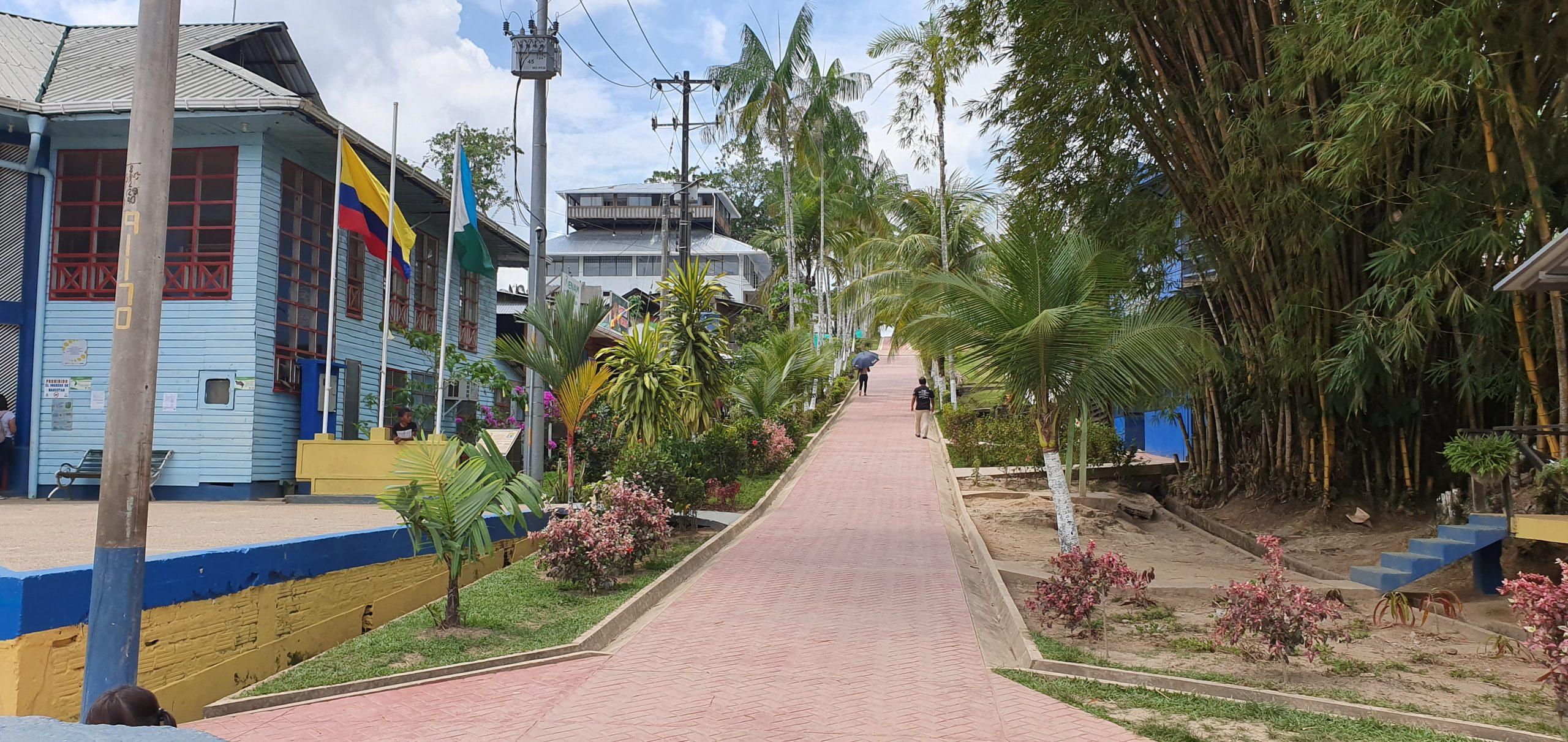 En Puerto Nariño, Amazonas
